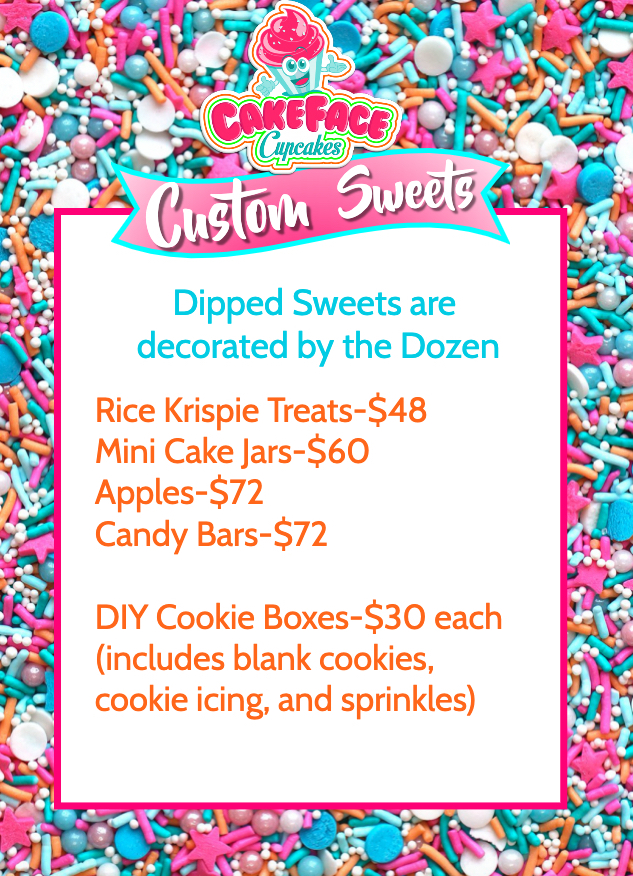 Sweets Pricing 2